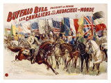 Buffalo Bill's Wild West, Cavaliers Audacieux Giclee Print