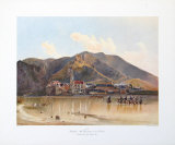 View of Duernstein in Wachau, Danube Collectable Print by Rudolph von Alt