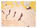 Eglantine Giclee Print by Henri de Toulouse-Lautrec