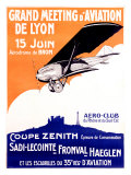 Grand Aviation, Meeting of Lyon Giclee Print