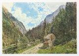 The Valley Anlauftal near Gastein, Salzburg Samlertryk af Rudolph von Alt