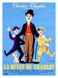 La Revue de Charlot Giclee Print by Leo Kouper