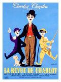 La Revue de Charlot Giclee Print by Leo Kouper