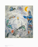 The Big Grey Circus Posters by Marc Chagall
