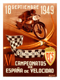 Salamanca Moto Giclee Print by Gracia 