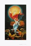 The Resurrection Prints by Matthias Gruenewald