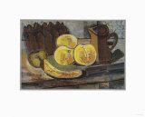 Still Life with Banana Samlertryk af Georges Braque