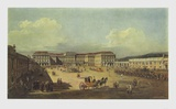 The Castle Schoenbrunn at the Time of Maria Theres Collectable Print by Bernardo Bellotto