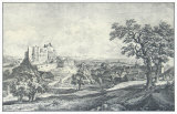 Ruin of the Castle Liechtenstein Collectable Print by Johann Christian Brand