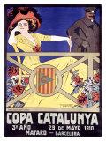 Copa Catalunya Giclee Print by J. Muntanya