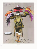 The Hat-Seller Collectable Print by E. Bermann