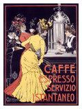 Café expreso Lámina giclée por Ceccanti