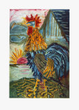 The Cock Collectable Print by Otto Dix