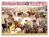 Buffalo Bill's Wild West Show Lámina giclée