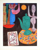 Still Life, 1940 Samlertryk af Paul Klee