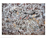 Mural, 1950 Psters por Jackson Pollock