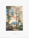 Landscape and Small Church Collectable Print by Albrecht Altdorfer