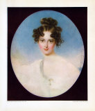 Lady with a Pearl Necklet Collectable Print by Moritz Michael Daffinger