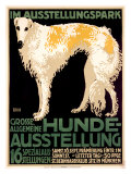Hunde Ausstellung Giclee Print by Julius Edmond Robert Nitsche