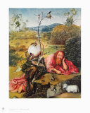 John de Baptist Collectable Print by Hieronymus Bosch