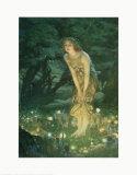 Midsummer Eve Plakat av Edward Robert Hughes