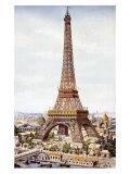 Torre Eiffel Lámina giclée
