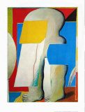 Masked Figure II, 1965 Collectable Print by Horst Antes
