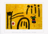 The Little Fair Girl in the Park Prints by Joan Mir&#243;