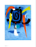 Bluxao V, 1955 Lminas por Willi Baumeister