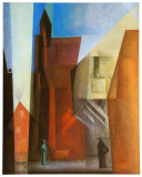Arch Tower I Art by Lyonel Feininger