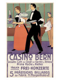 Casino Bern Giclee Print by  Henliross