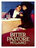 Bitter Pastore Giclee Print by Leopoldo Metlicovitz