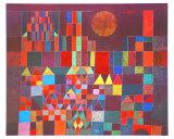 Burg und Sonne, 1928 Kunstdrucke von Paul Klee