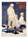 PKZ, 1909 Giclee Print by Burkhard Mangold