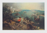 Landscape with the Fall of Ikarus Collectable Print by Pieter Bruegel the Elder