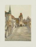 Schlosshof II, Castle in Innsbruck Collectable Print by Albrecht Dürer