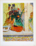 The Provencal Jug Impresso de peas de colees por Pierre Bonnard