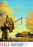 Casket at the Beach Plakater av Salvador Dalí