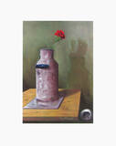 Can with Red Pink Collectable Print by Franz Radziwill