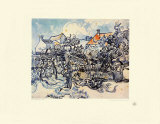 A Farmer's Garden Collectable Print by Vincent van Gogh