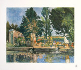 The Park Collectable Print by Paul Cézanne