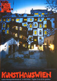 Kunsthaus Wien Poster by Friedensreich Hundertwasser