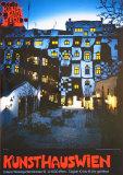 Kunsthaus Wien Poster by Friedensreich Hundertwasser