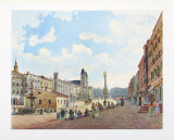 Center of Linz Collectable Print by Jakob Alt