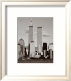 World Trade Center and Financial Center Posters af Walter Gritsik