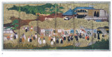 Portuguese Visitors Arriving in Japan Collectable Print