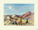 Herd of Goats at Naxos Collectable Print by Richard Seewald