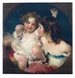 The Two Calmady-Children Collectable Print by Thomas Lawrence