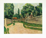 The Village Street Collectable Print by Paul Cézanne