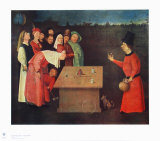 The Juggler Collectable Print by Hieronymus Bosch